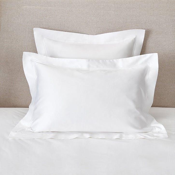 Symons Cord Oxford Pillowcase, Super King, White