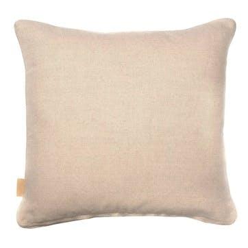 Lavender Tapestry Kaleidoscope, Square Linen Cushion