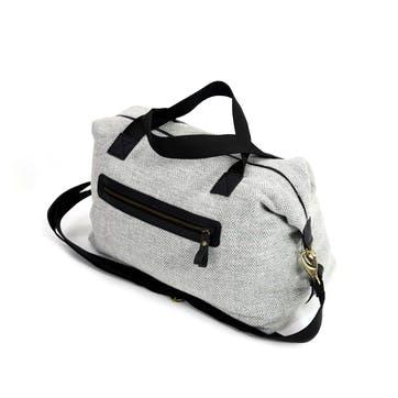 Weekend Bag; Silver