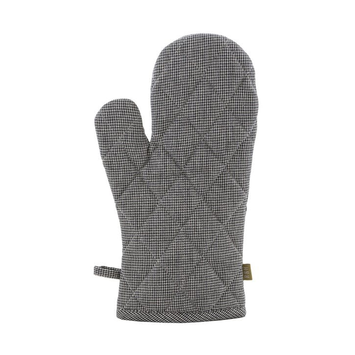 Houndstooth Chambray Oven Glove