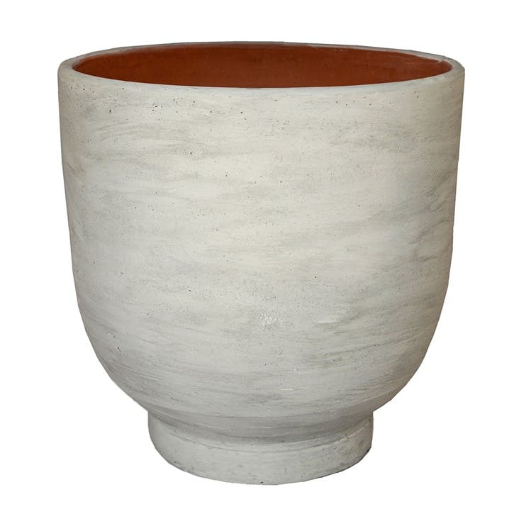 Parma, Planter, Large, White