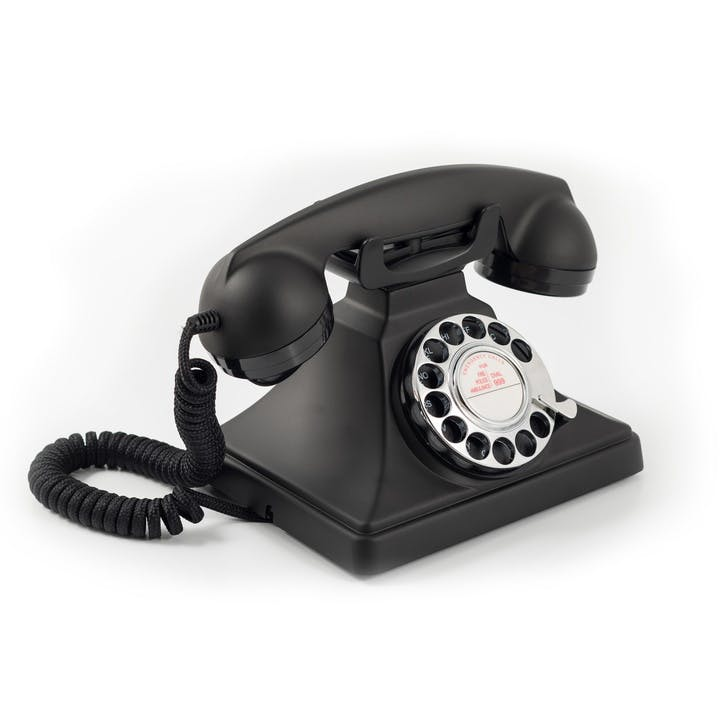 200 Telephone; Black