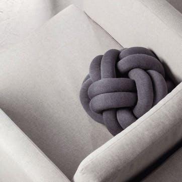 Knot, Cushion, Grey