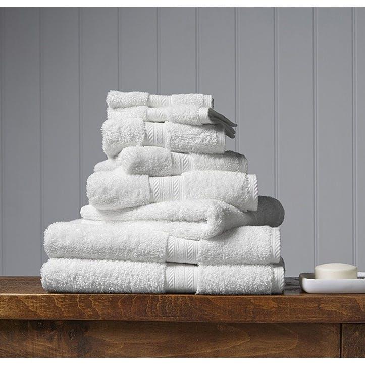 Renaissance White Hand Towel
