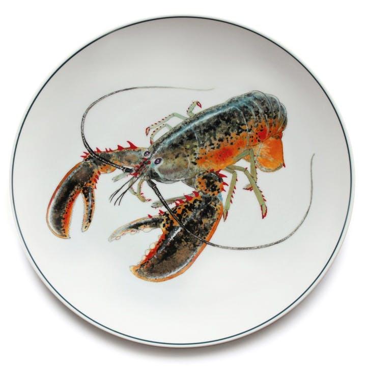 Seaflower American Lobster Charger Platter, 32cm, Multi