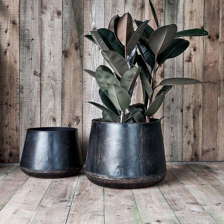 Endo Reclaimed Iron Planter - Small