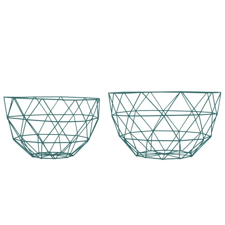 Linea Fruit Bowl, Set of 2