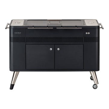 Hub Electric Ignition Charcoal Barbeque, Graphite