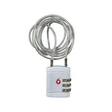 Aluminium Long Cable Lock