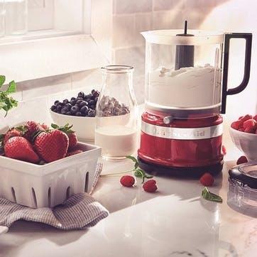 Mini Food Processor; Empire Red