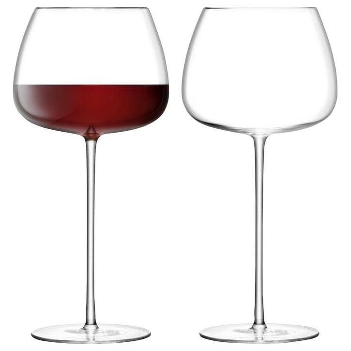 Wine Culture Set of 2 Red Wine Balloon Glasses