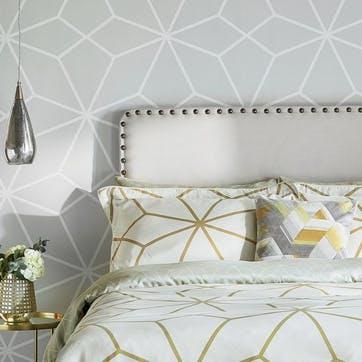 Axal Oxford Pillowcase, Ochre
