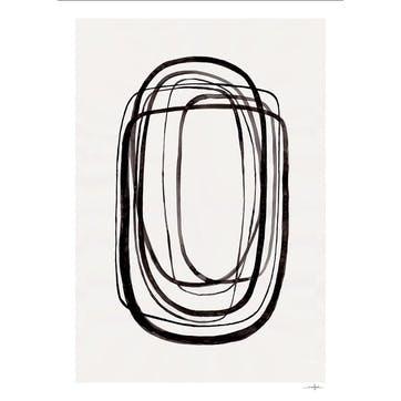 Lines No 3, Ana Frois Art Print