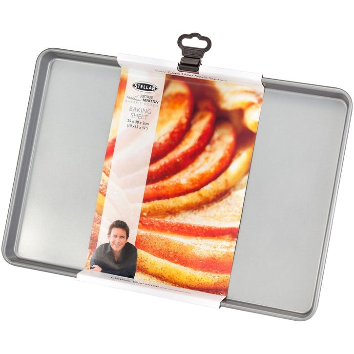 James Martin Bakers Dozen Baking Tray; 38 x 25 x 2cm