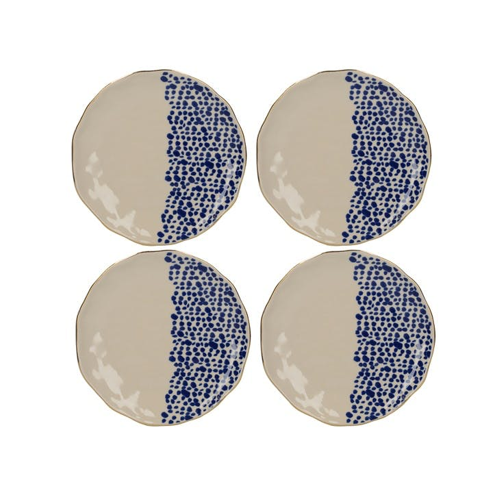 Mikasa Azores Speckle Side Plate, Set of 4