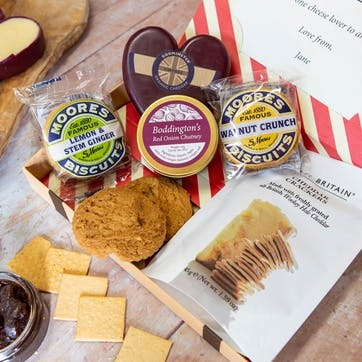 Cheese & Biscuits Letter Box Hamper
