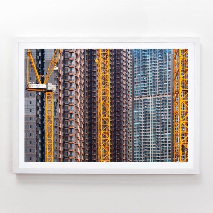 Building Hong Kong 2 Print, 42cm x 59.4cm