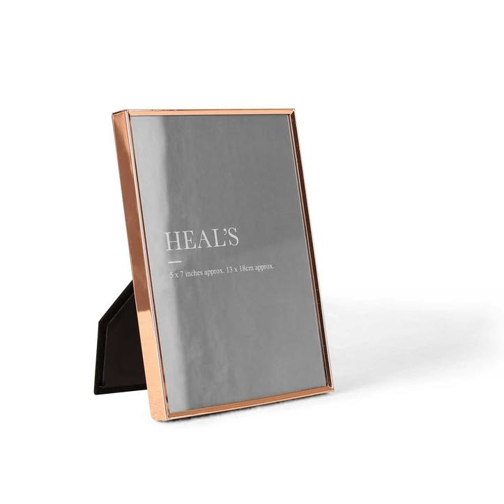 Simple Copper Photo Frame, 18 x 13cm
