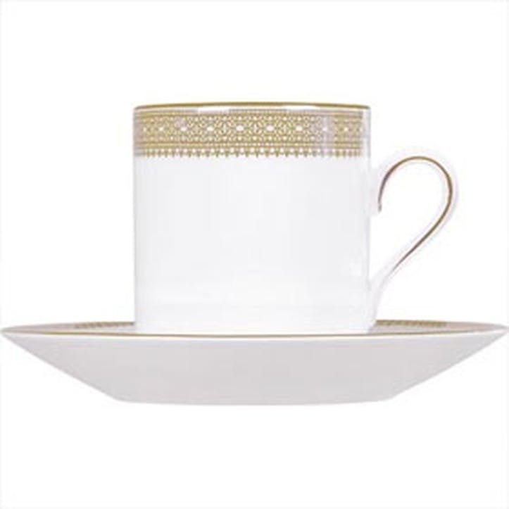 Lace Gold Coffee Saucer