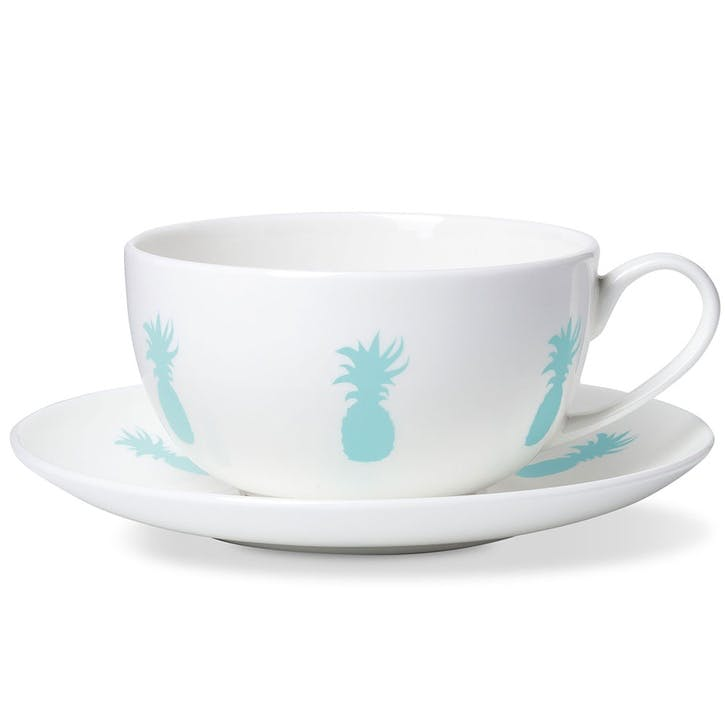 Pineapple Breakfast Cup & Saucer
