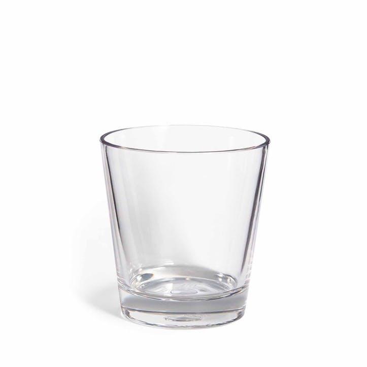 Cabana Acrylic Double Old Fashioned Glass
