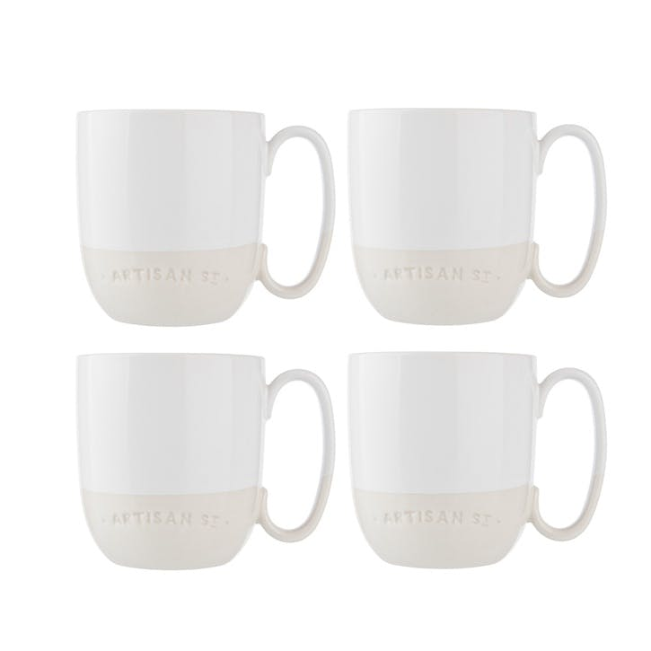 Breakfast Mug, Set of 4