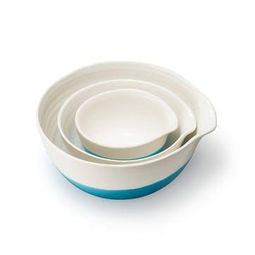 Colour Dip, Nested Bowls, Blue
