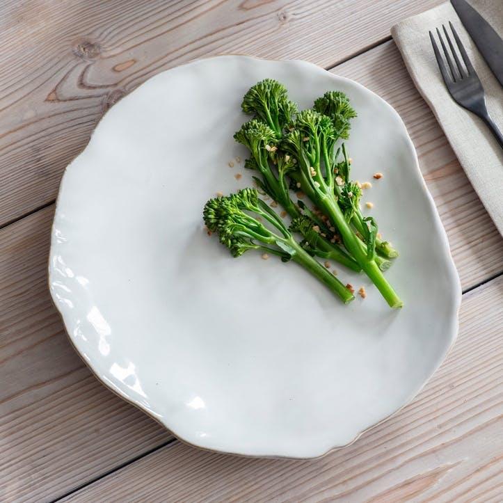 Ithaca Dinner Plate, Chalk