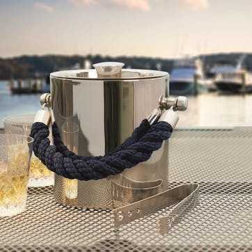 Stainless Steel Ice Bucket, H19 x D16cm