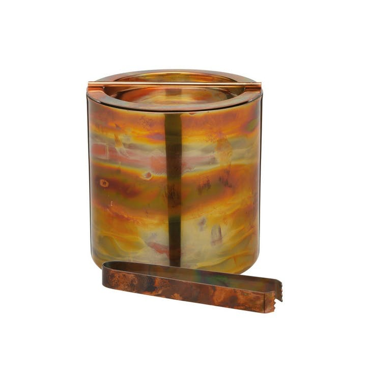 Iridescent Copper Ice Bucket