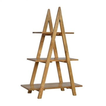 Cotswold Ladder Shelving Unit, Natural
