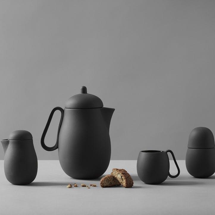 Nina Tea Set, Black