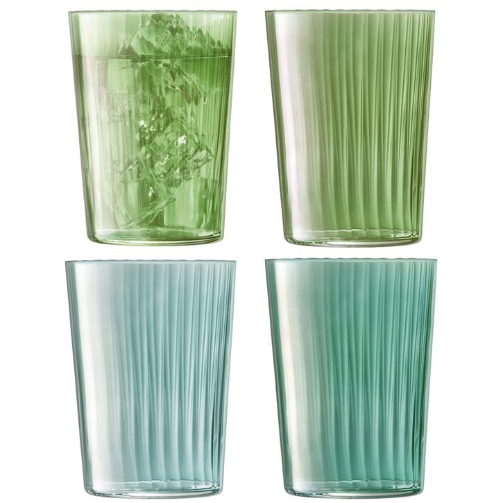Gems Tumbler, Set of 4, Jade