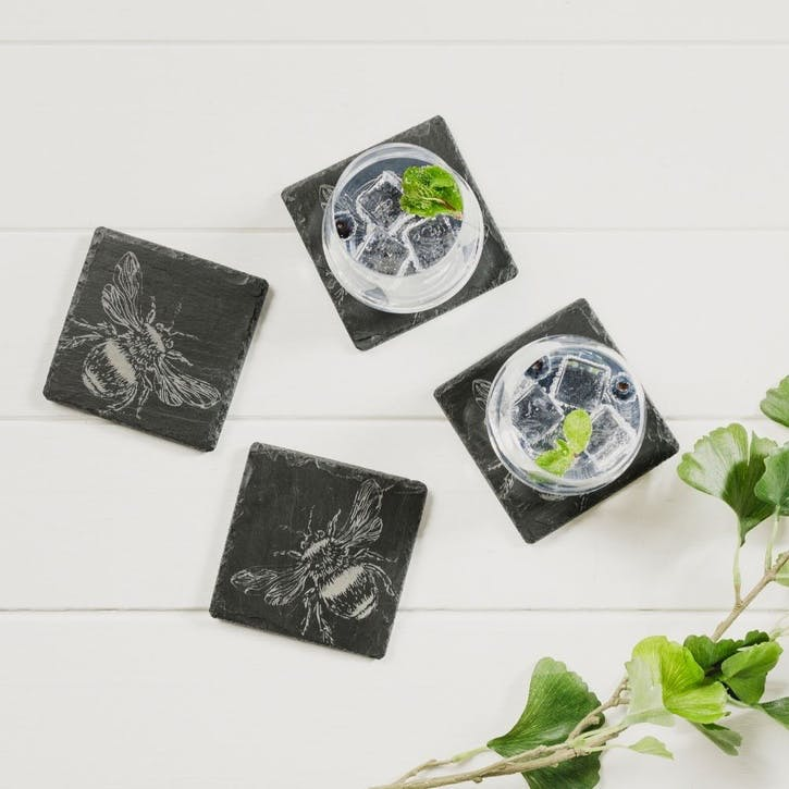 Bee Coaster, Set of 4