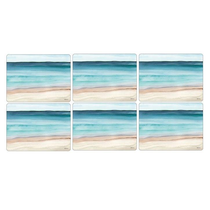 Coastal Shore Placemats Set of 6