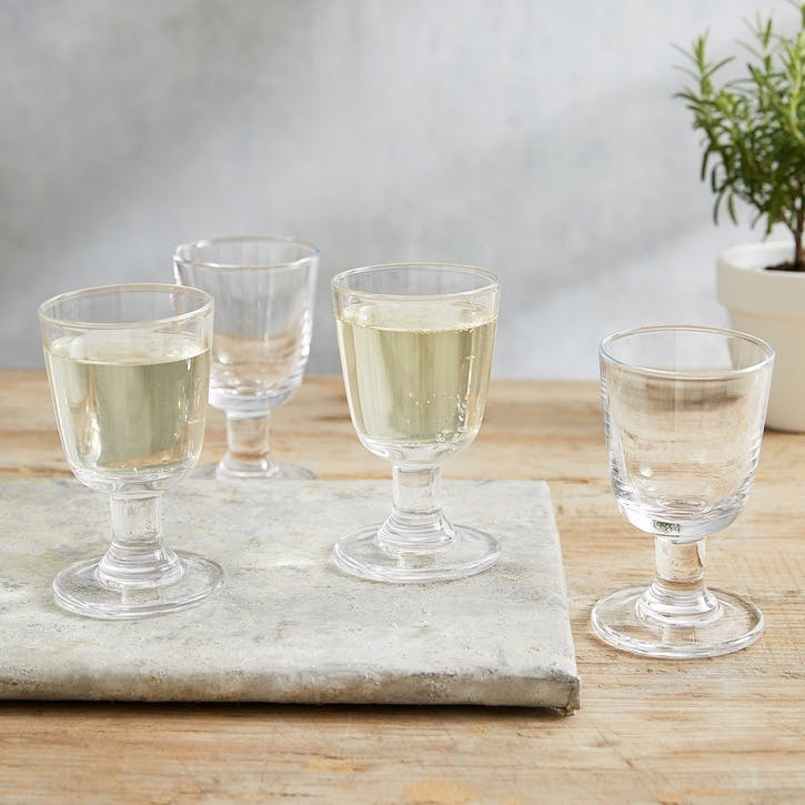Orford Small Wine Glass, Set Of 4