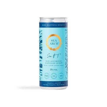 Sea Arch Non-Alcoholic Sea & Light Indian Tonic Cans, Pack of 12