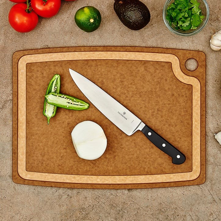 Chopping Board, L44 x W33cm, Nutmeg and Natural