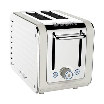 Architect Toaster, 2 Slot; Canvas White