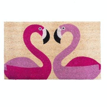 Doormat Flamingoes, 75 x 45cm