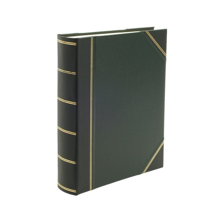 Original Portrait Photo Album, Green