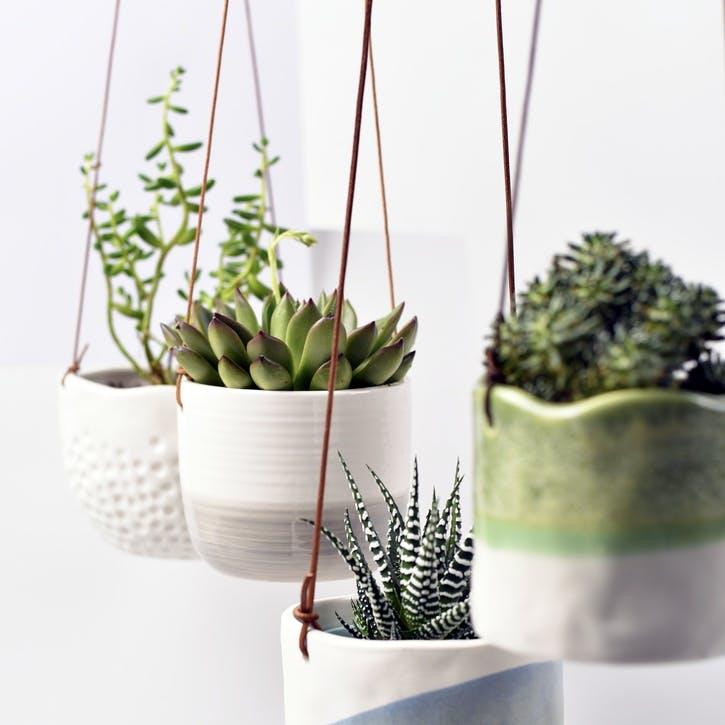 Indoor Hanging Pot, Wave Design