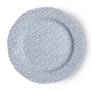 Felicity Plate, 21.5cm, Pale Blue