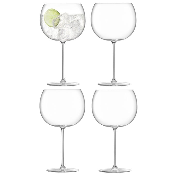 Borough Balloon Glass, Set of 4, 680ml