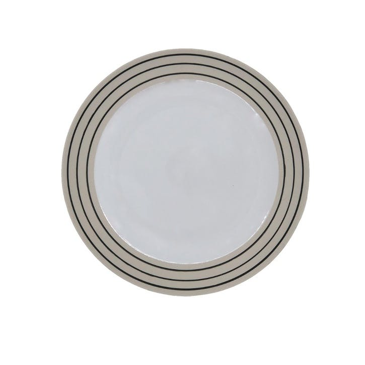 Clef Side Plate, Set of 4