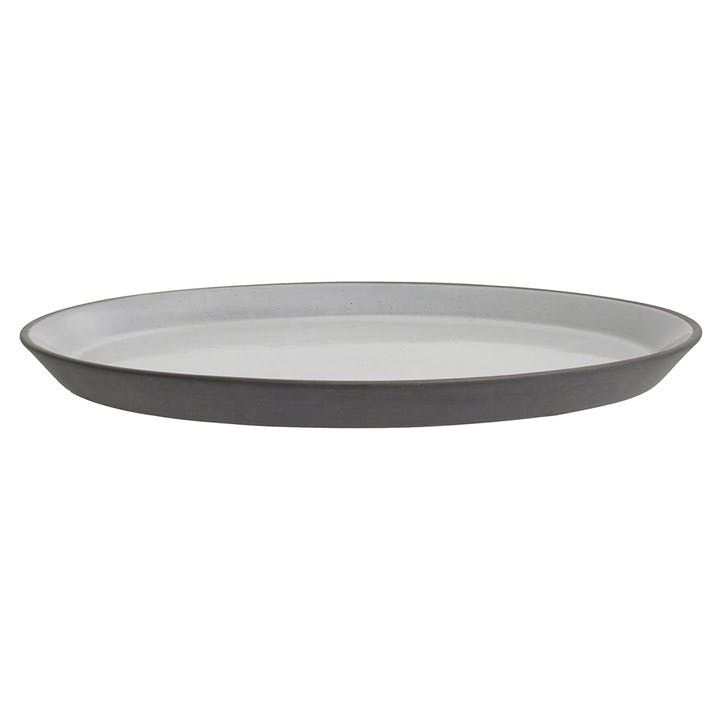Grey Stoneware Side Plate