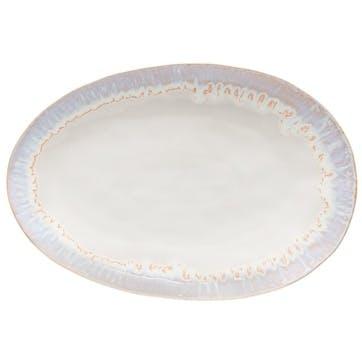 Brisa Salt Oval Serving Platter