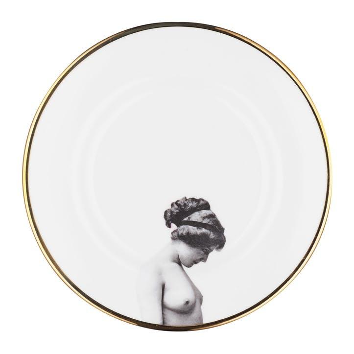 Modern Surrealist The Girl Salad Plate