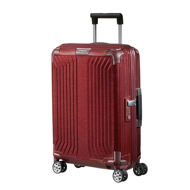 Lite-Box Spinner Suitcase, 55cm, Red