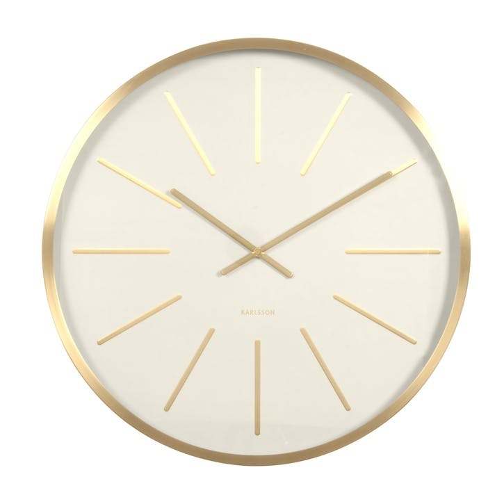 Maxiemus Wall Clock, White